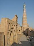 Alminar de Khoja del Islam en Khiva fotografía de archivo libre de regalías
