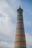 Alminar de Khoja del Islam en Khiva fotos de archivo libres de regalías