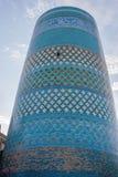 Alminar de Khoja del Islam, Khiva fotografía de archivo