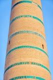 Alminar de Khoja del Islam, Khiva imágenes de archivo libres de regalías