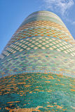Alminar de Khoja del Islam, Khiva fotografía de archivo libre de regalías