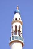 Alminar de la mezquita Fotografía de archivo
