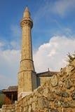Alminar de la mezquita de Tabacica en Mostar Fotografía de archivo libre de regalías