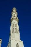 Alminar de la torre de una mezquita imagenes de archivo