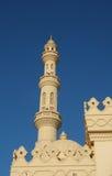 Alminar de la torre de una mezquita foto de archivo