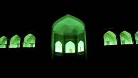 Alminar de menor importancia inacabado Muhammad Amin Khan Khiva, Uzbekistán del alminar de Kalta metrajes