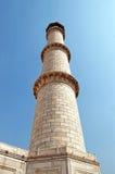 Alminar de Taj Mahal, Agra, la India Fotos de archivo