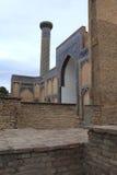 Alminar del emir de Guri imagenes de archivo
