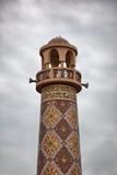 Alminar dentro del pueblo cultural de Katara en Doha, Qatar Foto de archivo