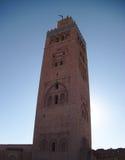 Alminar en Marruecos Imagen de archivo