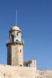 Alminar musulmán, Jerusalén, Israel foto de archivo libre de regalías