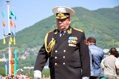 Almirante Foto de archivo