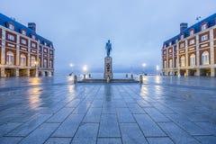 Almirante Brown kwadrat w Mar Del Plata, Argentyna zdjęcia stock