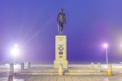 Almirante Brown Square in Mar del Plata, Argentina Royalty Free Stock Images