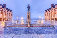 Almirante Brown Square in Mar del Plata, Argentina Royalty Free Stock Photos