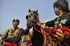 Almirante Cheng Ho da fuga Fotografia de Stock Royalty Free