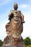 Almirante Cheng Ho Statue y templo Imagenes de archivo