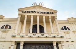 Almirante Mendrisio del casino, es uno del más lujosa y los casinos de moda en Suiza localizaron en Mendrisio fotografía de archivo