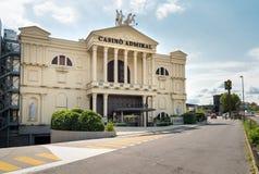 Almirante Mendrisio del casino, es uno del más lujosa y los casinos de moda en Suiza localizaron en Mendrisio imagen de archivo