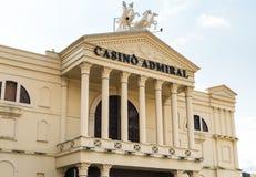 Almirante Mendrisio del casino, es uno del más lujosa y los casinos de moda en Suiza localizaron en Mendrisio fotografía de archivo libre de regalías