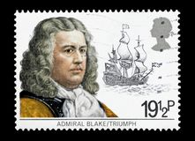 Almirante Robert Blake Imagem de Stock
