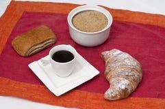 Almoço completo Imagens de Stock Royalty Free
