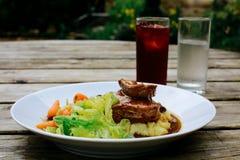 Almoço de bar Fotografia de Stock