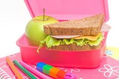 Almoço de escola Foto de Stock