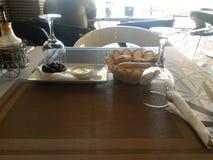 Almoço de espera Fotografia de Stock