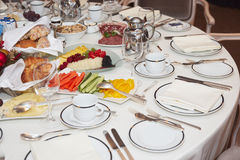 Almoço de negócio Fotos de Stock Royalty Free