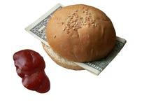 Almoço de negócio Imagens de Stock Royalty Free