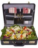 Almoço de negócio claro Foto de Stock