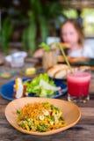 Almoço delicioso do marisco fotos de stock royalty free