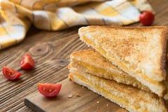 Almoço delicioso - sanduíches roasted Fotografia de Stock Royalty Free