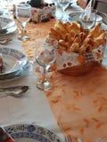 Almoço do aniversário Foto de Stock Royalty Free