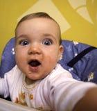 Almoço do bebê. Fotografia de Stock Royalty Free