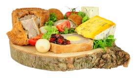 Almoço do bufete do ` s do Ploughman imagem de stock royalty free