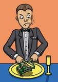 Almoço do homem rico Imagem de Stock Royalty Free