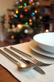 Almoço do Natal Foto de Stock