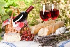 Almoço do verão Imagem de Stock