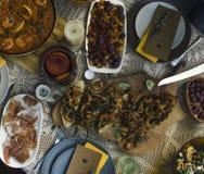 Almoço espanhol Imagens de Stock