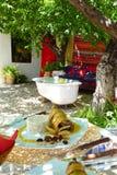 Almoço espanhol, fresco do al Foto de Stock Royalty Free