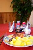 Almoço grande. imagens de stock
