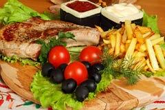 Almoço grande Fotografia de Stock Royalty Free