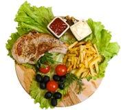 Almoço grande Fotos de Stock