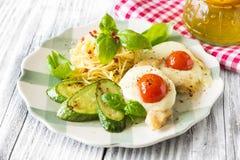 Almoço italiano imagem de stock