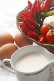Almoço - Mahlzeit Fotografia de Stock