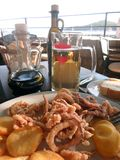 Almoço mediterrâneo Imagem de Stock