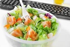 Almoço no escritório Foto de Stock