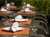 Almoço ou refeição matinal do verão Fotos de Stock Royalty Free